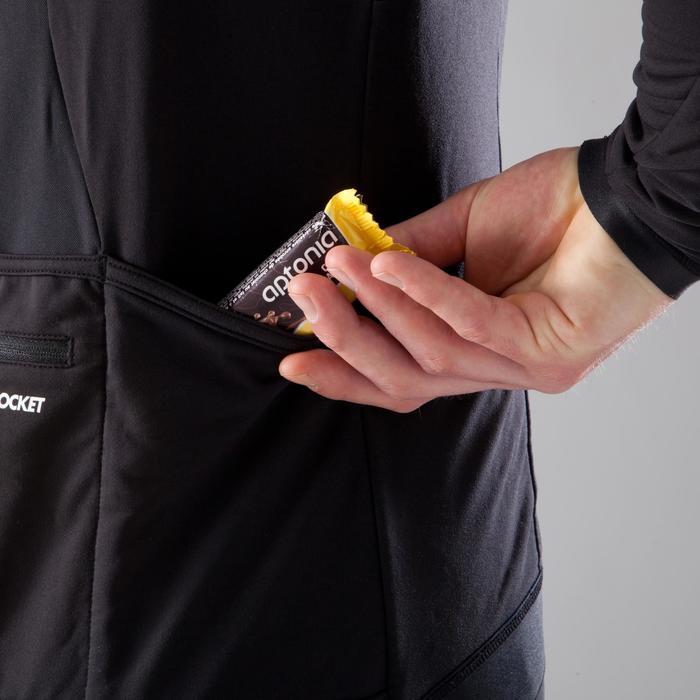 Fietsshirt met lange mouwen voor heren Roadcycling 900 zwart