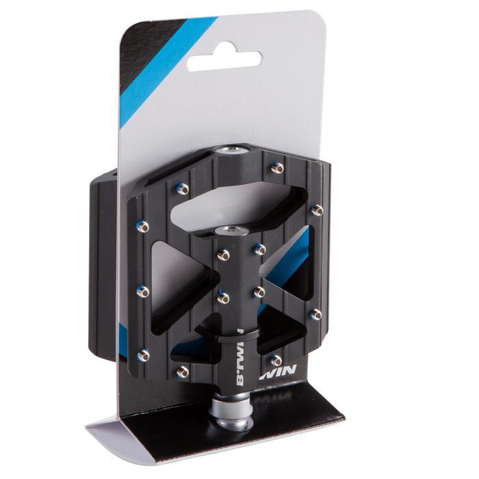 MTB-pedalen voor freeride aluminium zwart