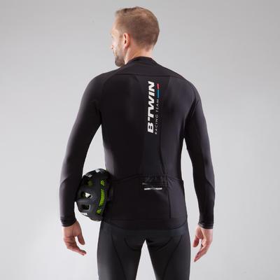 900 חולצה עם שרוולים ארוכים לרכיבה - שחור