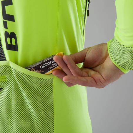 """Plento dviratininko ir turistinė striukė šaltam orui """"520"""", neoninė geltona"""