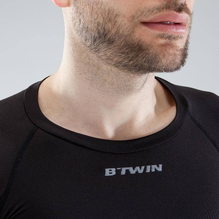 Fietsondershirt met lange mouwen voor heren 500 zwart - Warm