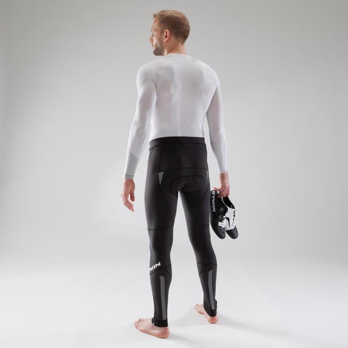 Lange Radhose ohne Träger 900 Herren schwarz