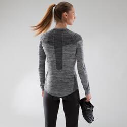 Sous-vêtement manches longues vélo femme 500 noir