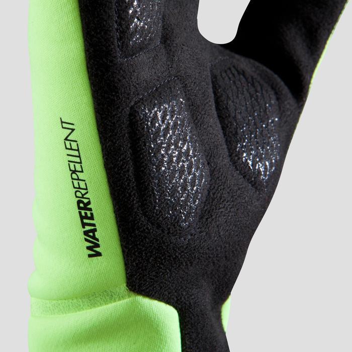 Fahrrad-Handschuhe 500 neongelb