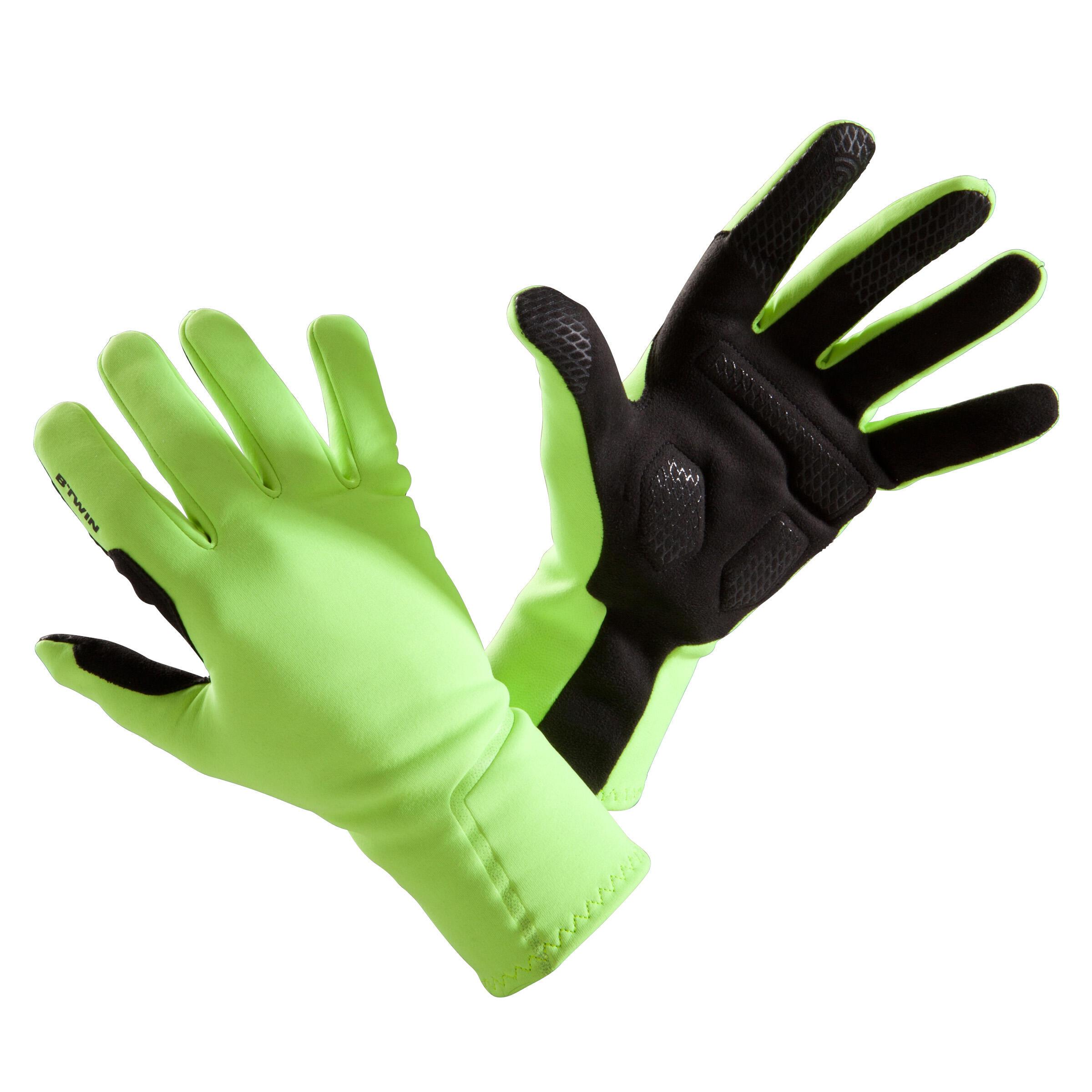 FAHRRADHANDSCHUHE 500 ZWISCHEN-SAISON | Accessoires > Handschuhe > Sonstige Handschuhe | Triban