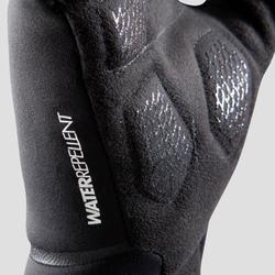 Spring/Autumn Cycling Gloves 500 - Black