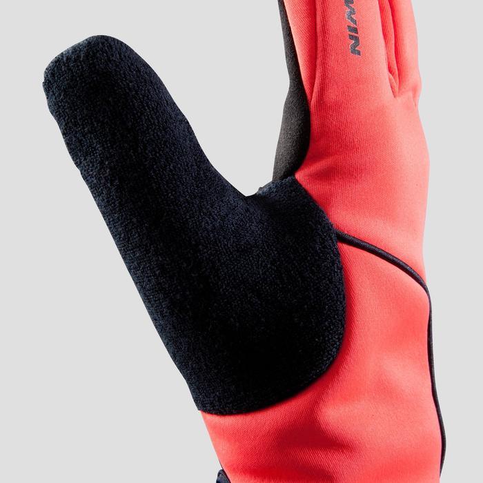 Fahrrad-Handschuhe Herbst 500 rot