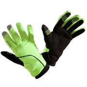 Zimske kolesarske rokavice 500 - rumene