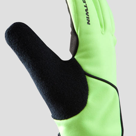 RC 500 Thermal Cycling Gloves - Yellow