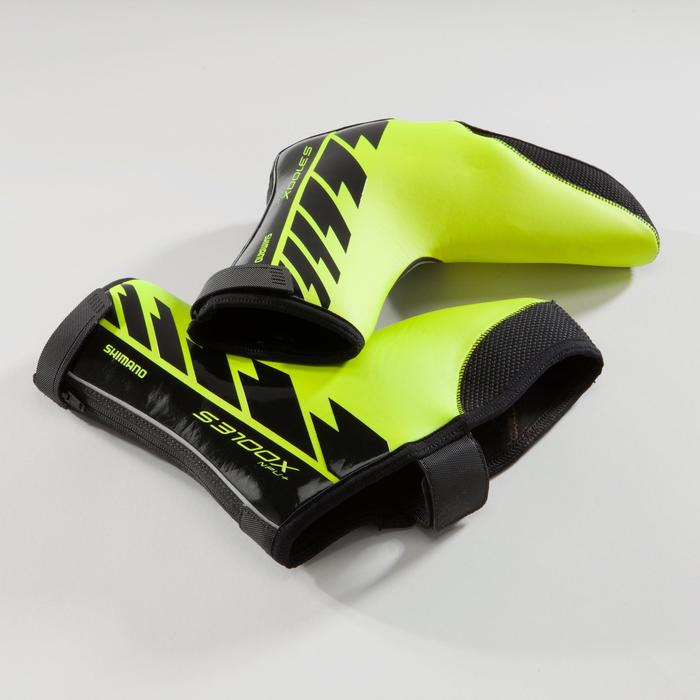 COUVRE-CHAUSSURES SHIMANO S3100X NPU+ JAUNE FLUO - 1226005