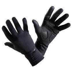 Fietshandschoenen voor het tussenseizoen 500 zwart