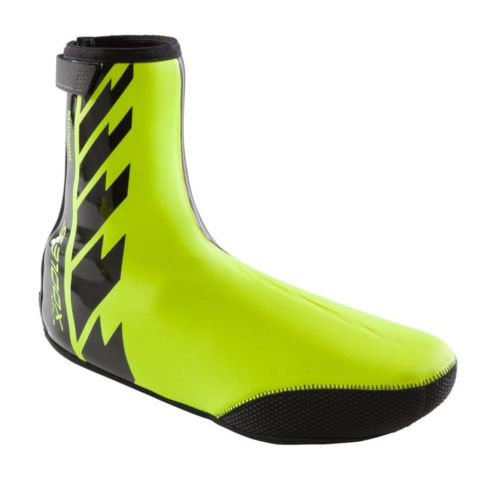 COUVRE-CHAUSSURES SHIMANO S3100X NPU+ JAUNE FLUO - 1226042