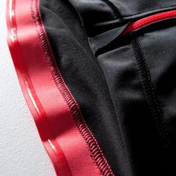 Wielershirt dames RR900 lange mouwen zwart