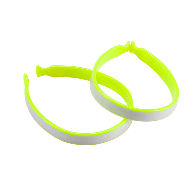 CYCLIST VISIBILITY ACCESS Clothing  Accessories - 300 cycling trouser clips - yellow BTWIN - Clothing  Accessories