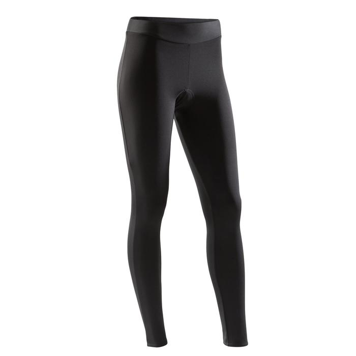 100 Women's Cycling Tights - Black - 1226116