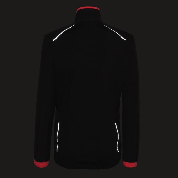 Fietsjas 100 dames zwart roze - 1226118