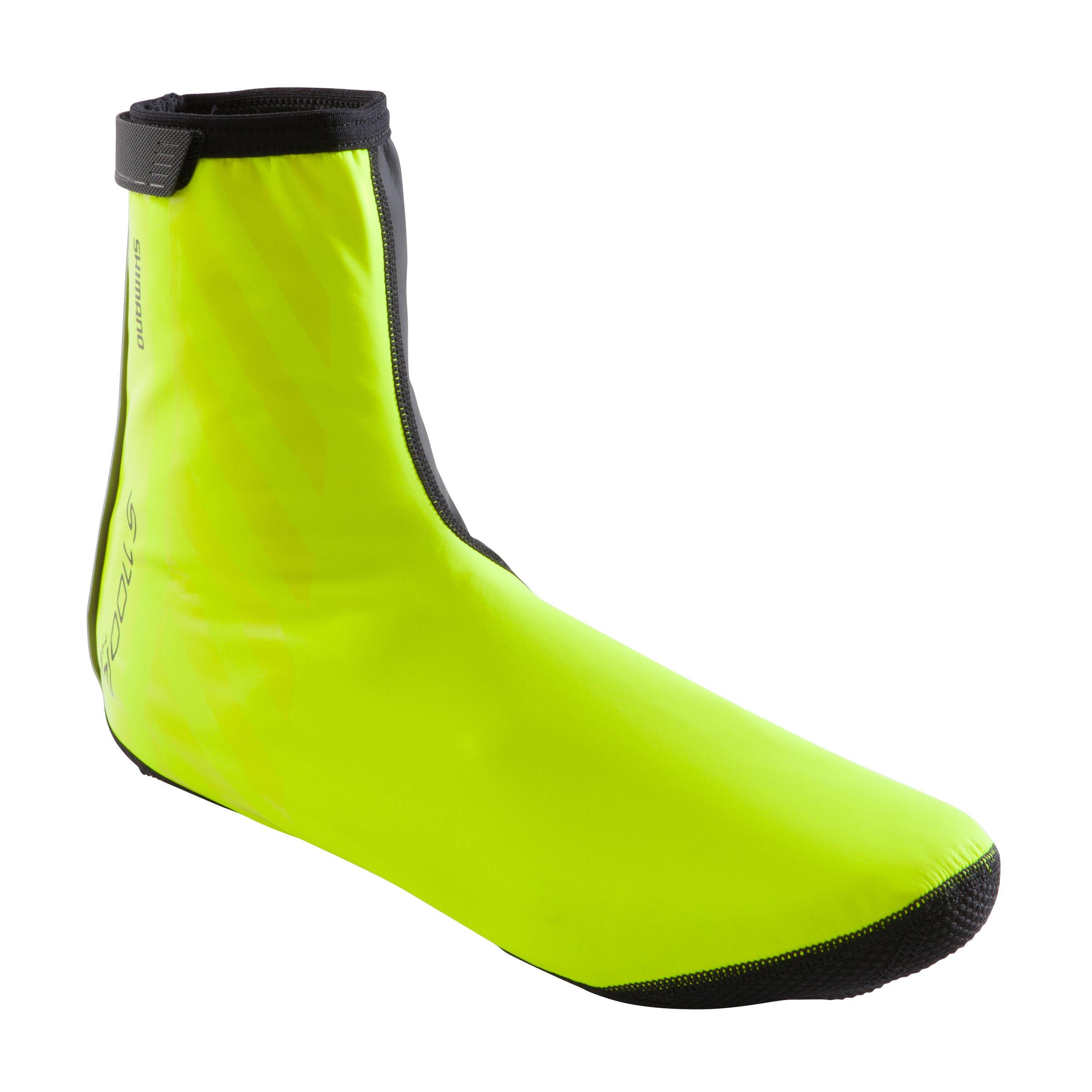 Fahrrad-Überschuhe S1100R H2O neongelb | Schuhe > Outdoorschuhe > Gamaschen | Gelb - Schwarz - Grau | Shimano