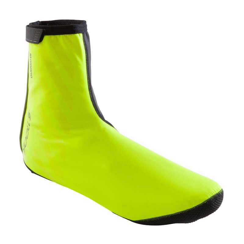 ГАМАШИ ЗА ШОСЕЙНО КОЛОЕЗДЕНЕ СТУДЕНО ВРЕМЕ Обувки - ГАМАШИ S1100R H2O, ЖЪЛТИ SHIMANO - Аксесоари за обувки