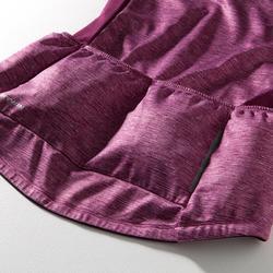 Langarm-Radtrikot Rennrad 500 Damen violett/rosa
