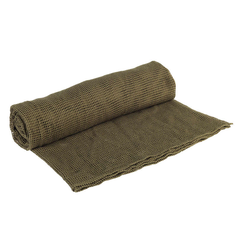 HIDES Shooting and Hunting - CAMOUFLAGE NET 1.5Mx2M GREEN SOLOGNAC - Hunting Types