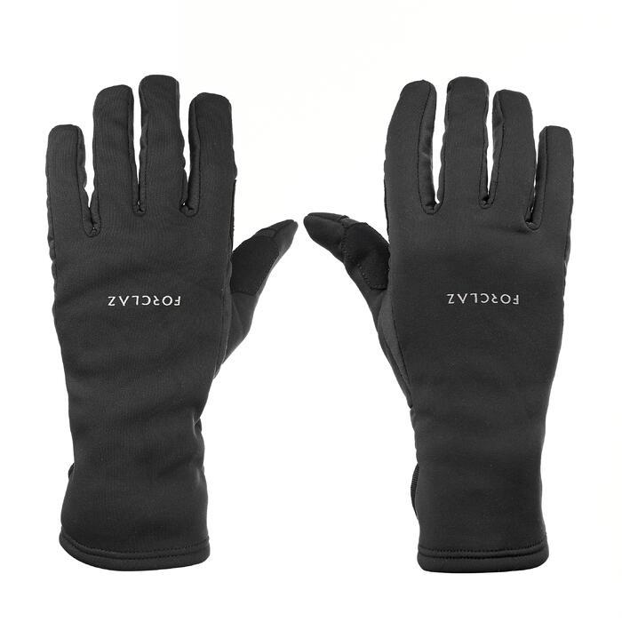 Handschoenen voor bergtrekking volwassenen Trek 500 zwart