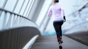 lopen sport voor de rug