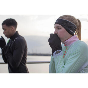 RUNNING HEADBAND EAR PROTECTION BLACK/GREY