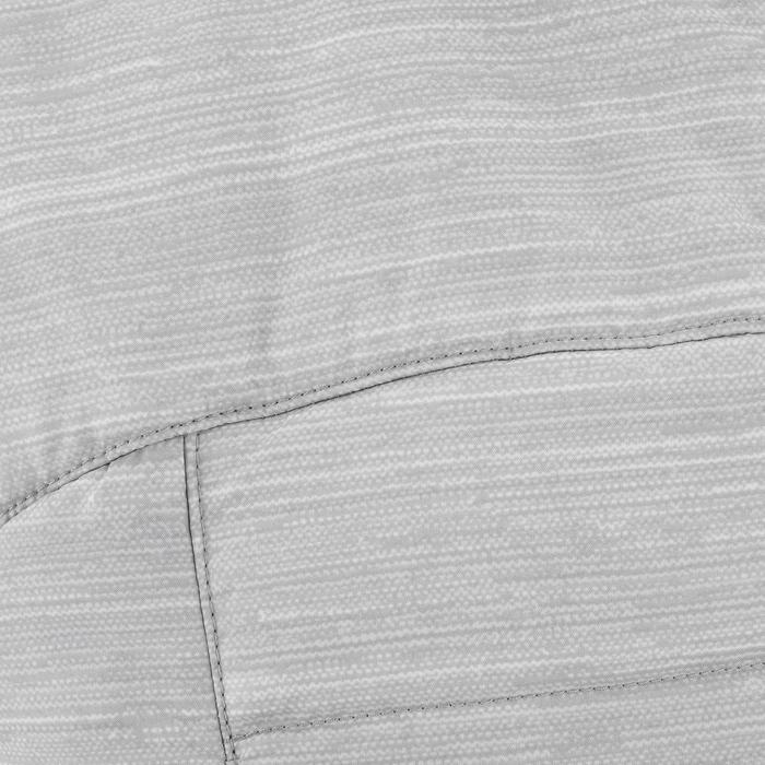 Wattierte Weste Wandern MH500 Kinder 128-164cm hellgrau