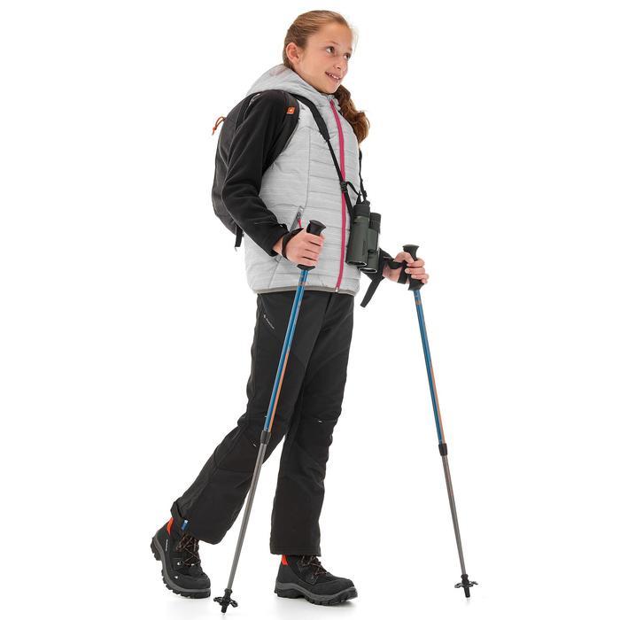 Bodywarmer voor hiking MH500 wit kinderen 7- 15 jaar