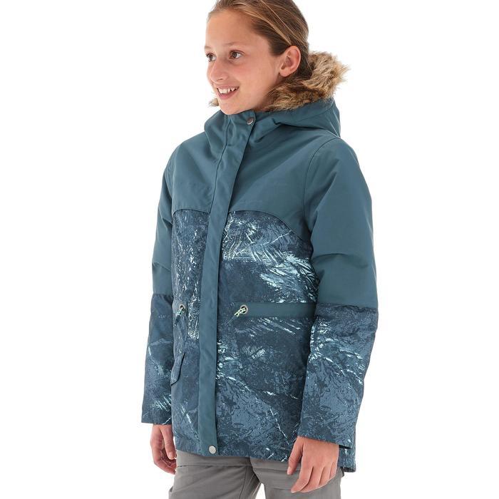 Kinder wandeljas voor de sneeuw SH500 X-Warm grijs