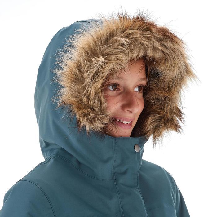 Wanderjacke Schnee SH500 X-Warm Kinder grau