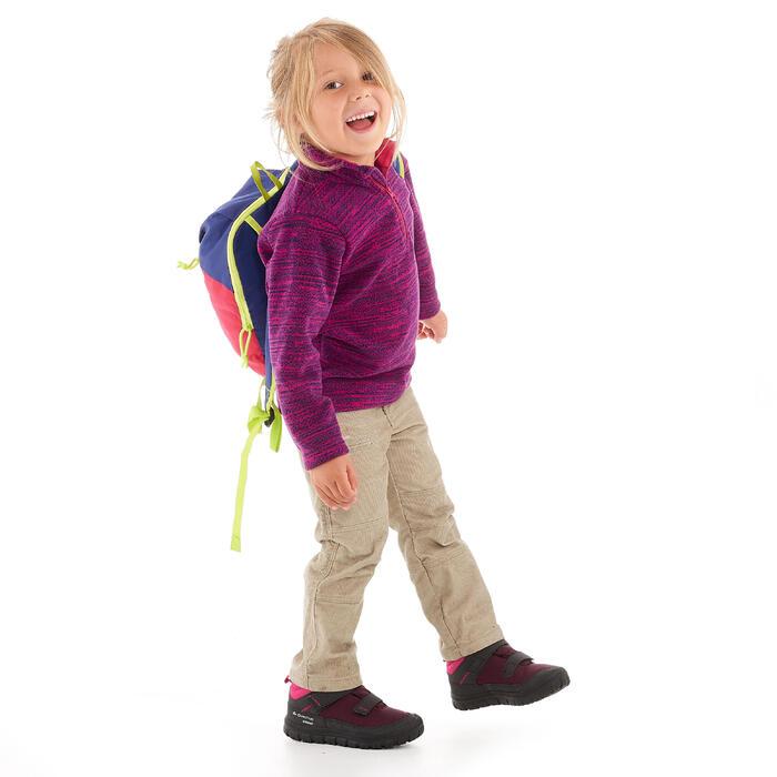 Warme en waterdichte wandelschoenen voor kinderen SH100 Warm klittenband 24-32