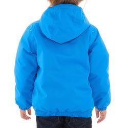 2到6歲男童款保暖雪地健行防水外套SH100-藍色