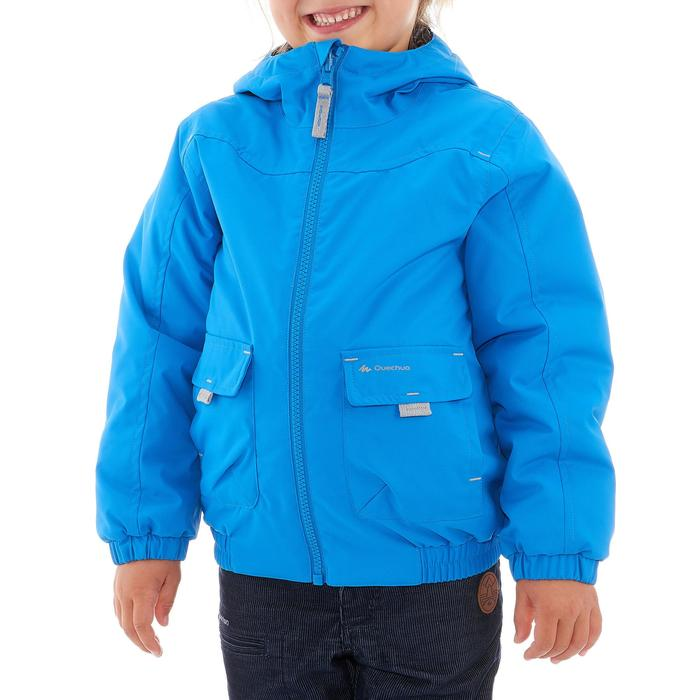 Boy's Warm Waterproof Snow Hiking Jacket SH100 Warm Age 2-6 - Blue