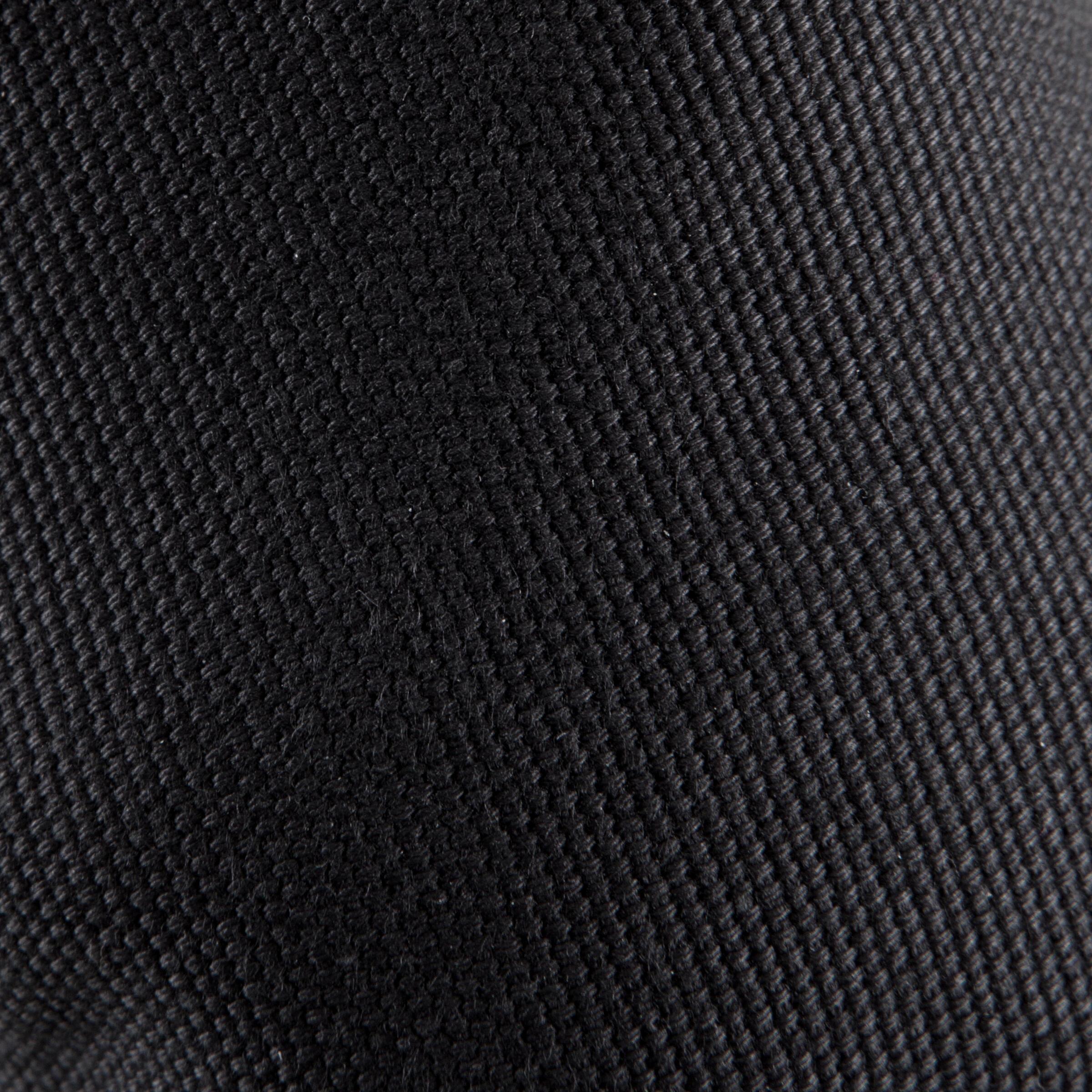 Demi-pointes toile bi-semelle noires