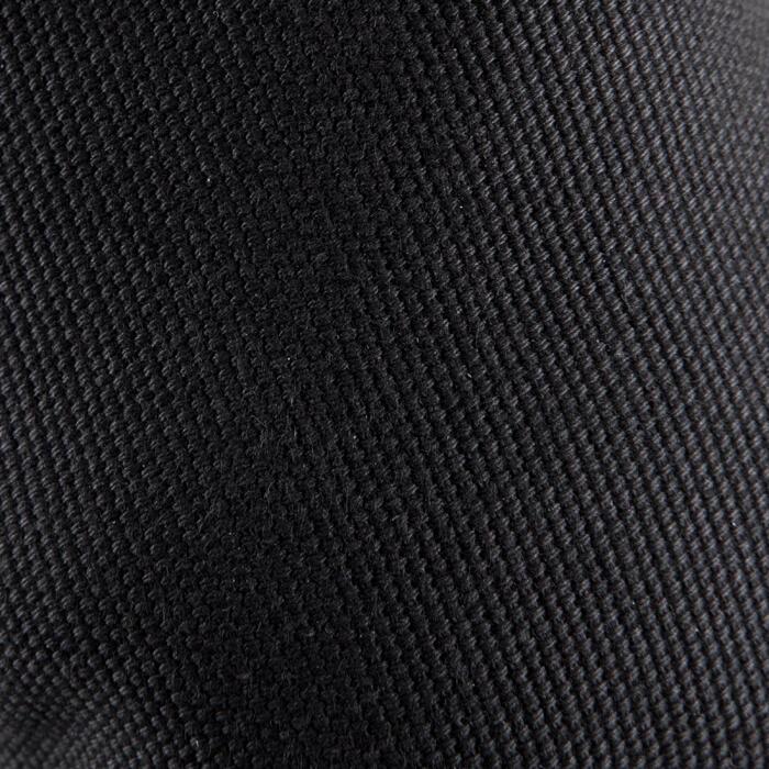 Demi-pointes bi-semelles toile noires