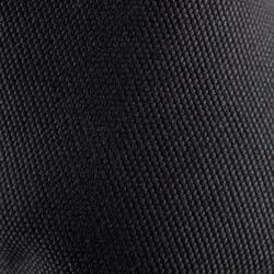Stoffen demi-pointes met splitzool zwart