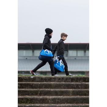 Veste d'entraînement de football enfant T100 noire - 1227333