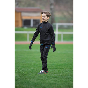 Voetbal trainingsbroek voor kinderen T100 zwart