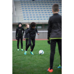 TP500 Kids' Football Training Bottoms - Black