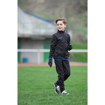 Veste d'entraînement de football enfant T100 noire - 1227359