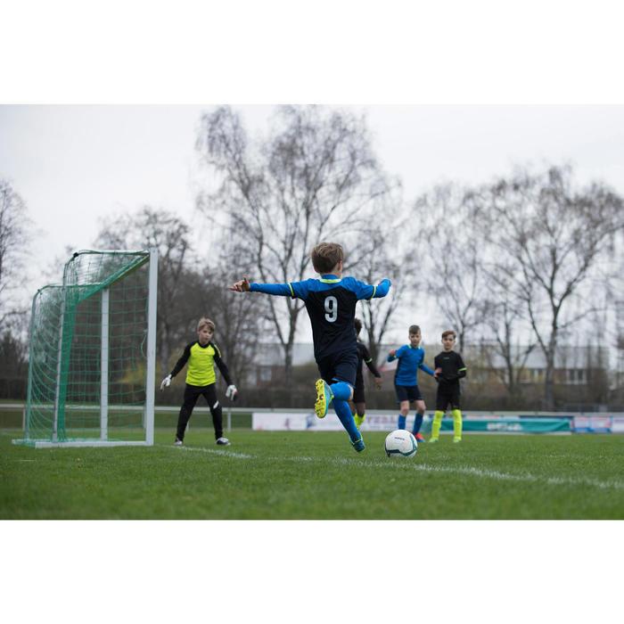 Short de football enfant F500 gris et - 1227379