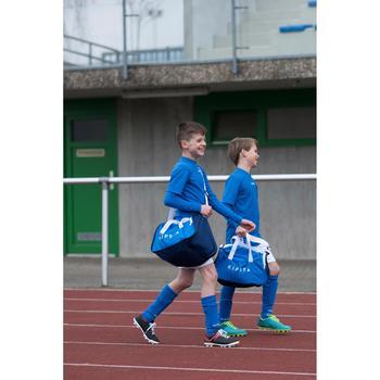 Chaussure de football enfant terrains secs Agility 300 FG bleue - 1227382