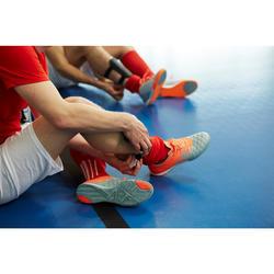 Chaussure de futsal adulte Agility 500 grise orange