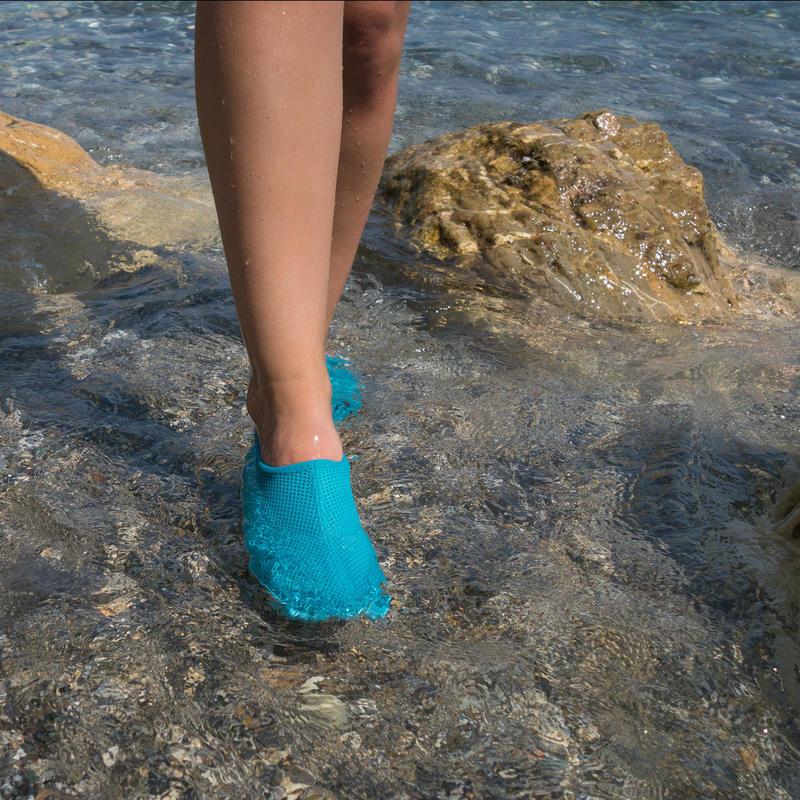 Zapatillas acuáticas Aquashoes 50 azul turquesa