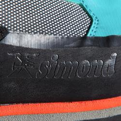 Schoenen voor alpinisme 3 seizoenen dames ALPINISM LIGHT turquoise