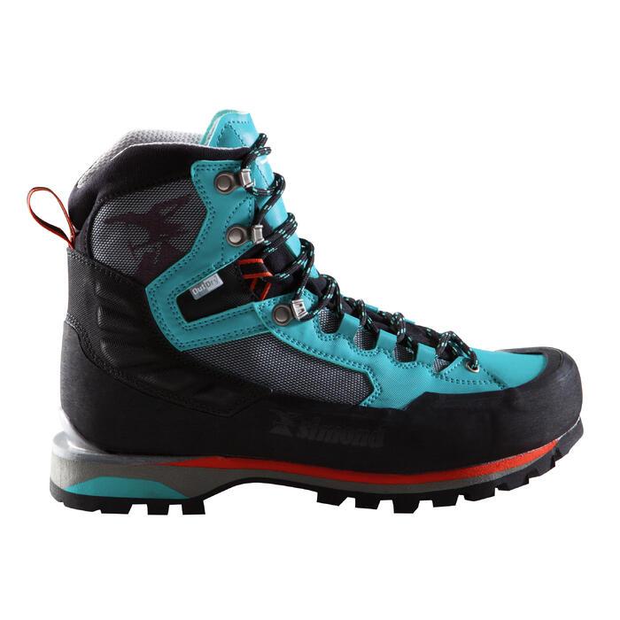 Women's 3 seasons mountaineering boots - ALPINISM LIGHT turquoise