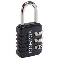 Kombināciju slēdzene, melna