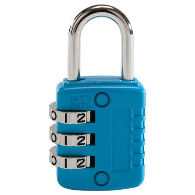 Навісний кодовий замок - Синій