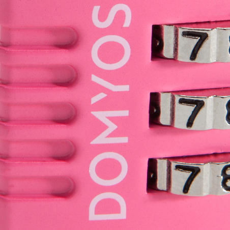 Combination Padlock - Pink